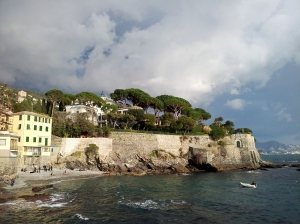 Near Nervi, a quartiere of Genova