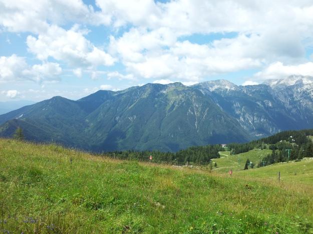 View at Velika Planina