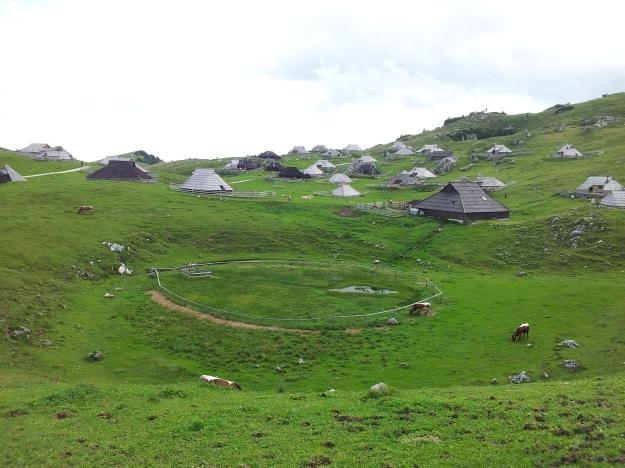 Huts at Velika Planina