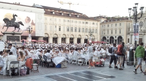 "Traditional doesn't mean ""no fun"" - this was a dinner-eating flash mob back in summer."
