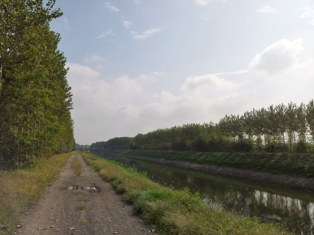 Canal near Chivasso, Italy