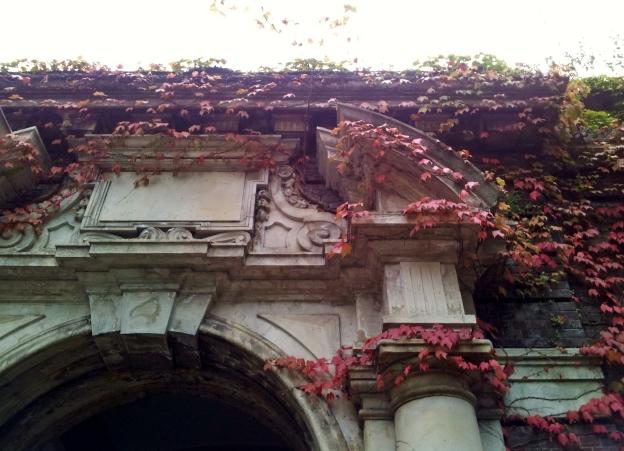 Archway in Giardini Reali, Turin