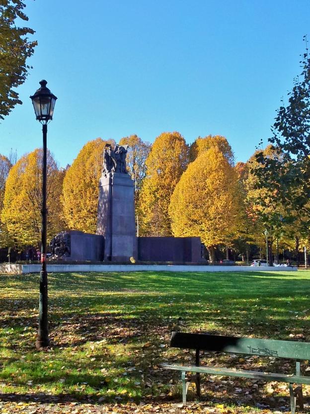 Giardini Reali, Turin, in autumn