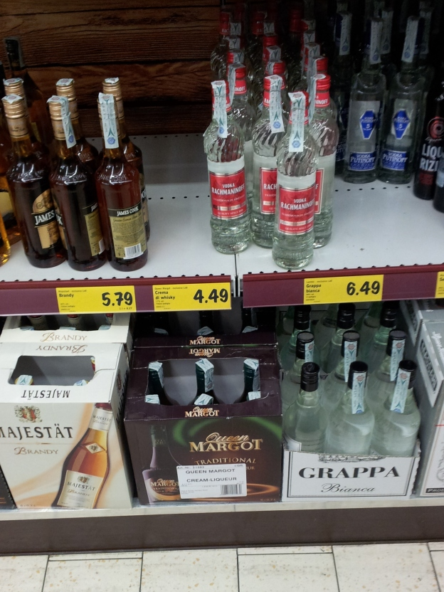 Cheap alcohol in Lidl