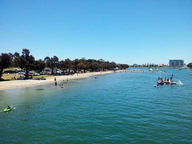 Mandurah foreshore, Australia