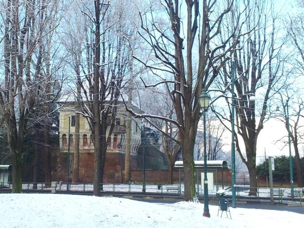 Snow in Giardini Reali