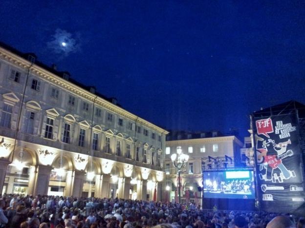Torino Jazz Festival in Piazza San Carlo