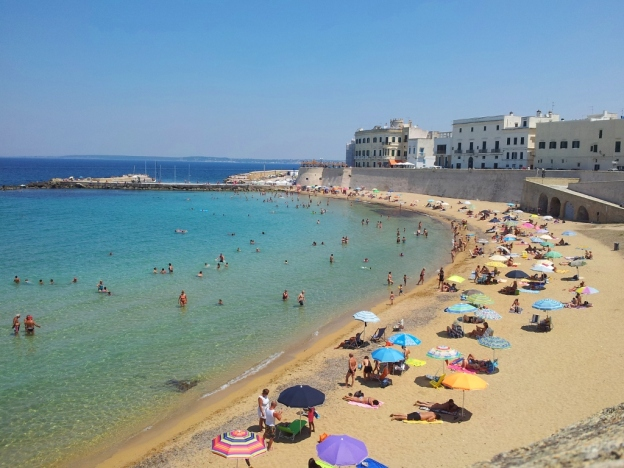 Beach in Gallipoli, Puglia