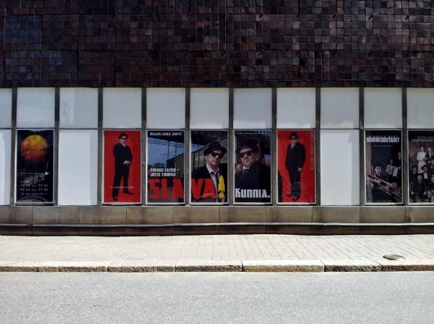 Theatre posters in Helsinki