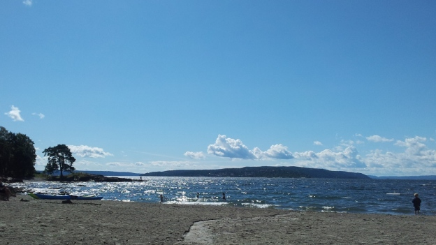 Beach near Oslo