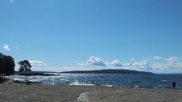 Beach near Oslo