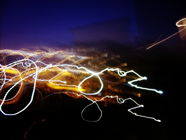 Abstract writing photo