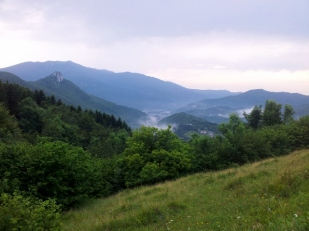 Near Monte Galero, Liguria