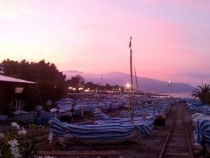 Boats on dry docks