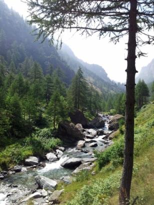 Stream near Conca del Pra