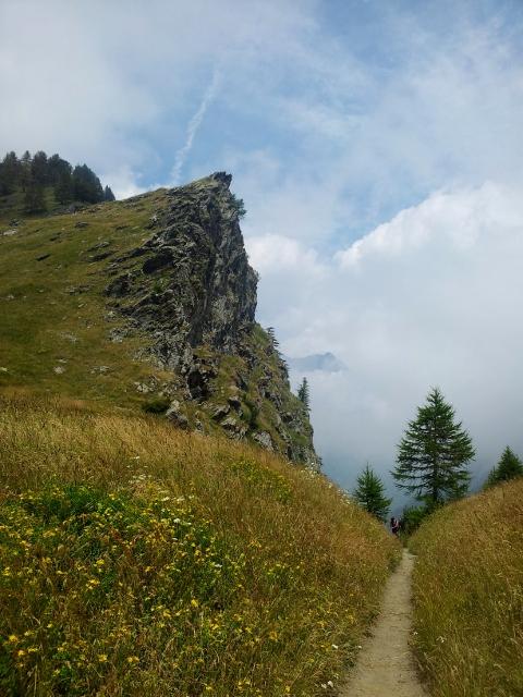 Cliffs near Conca del Pra