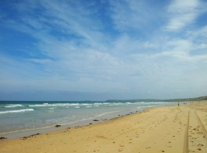 Beach near Hayle, Cornwall