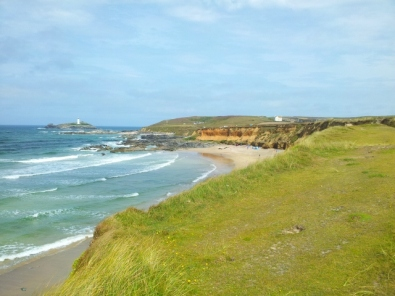 View to Godrevy Island, Cornwall