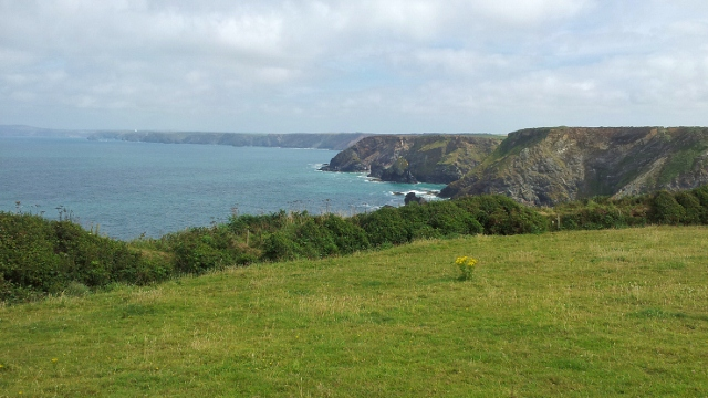Cornish cliffs