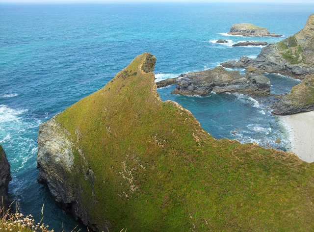 Rock formations, Cornwall