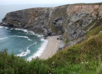 Cliffs in Cornwall