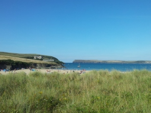 The Camel Estuary, looking towards Hawker's Cove