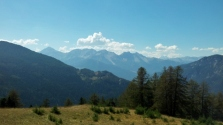 Susa Valley from Gran Bosco di Salbertrand
