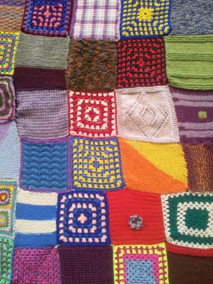 Patchwork knitting/crochet
